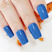 Квадратные акриловые Короткие искусственные ногти для детей, 24 шт., прозрачные красные накладные ногти, черные, розовые, французский маникю...(Китай)