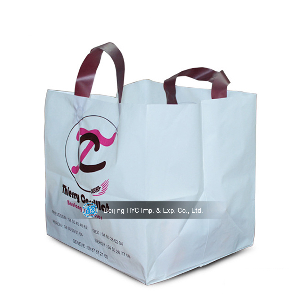 2017 Cheap Custom Shopping Plastic Bags For Clothes Packaging ...
