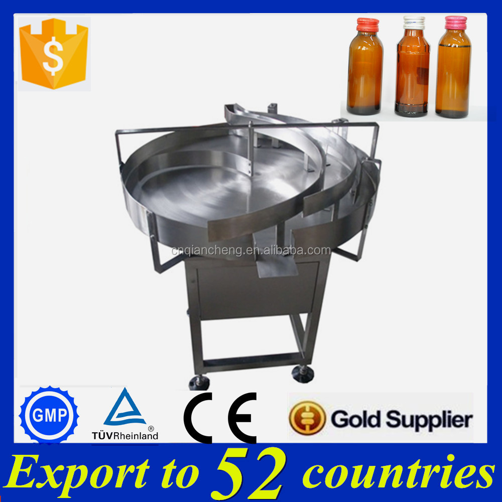 SUS304 Stainless steel syrup feeding turntable,bottle rotary table