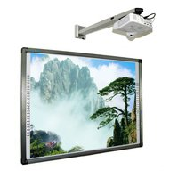 China teaching digital board/smart active multi touch interactive board for schools