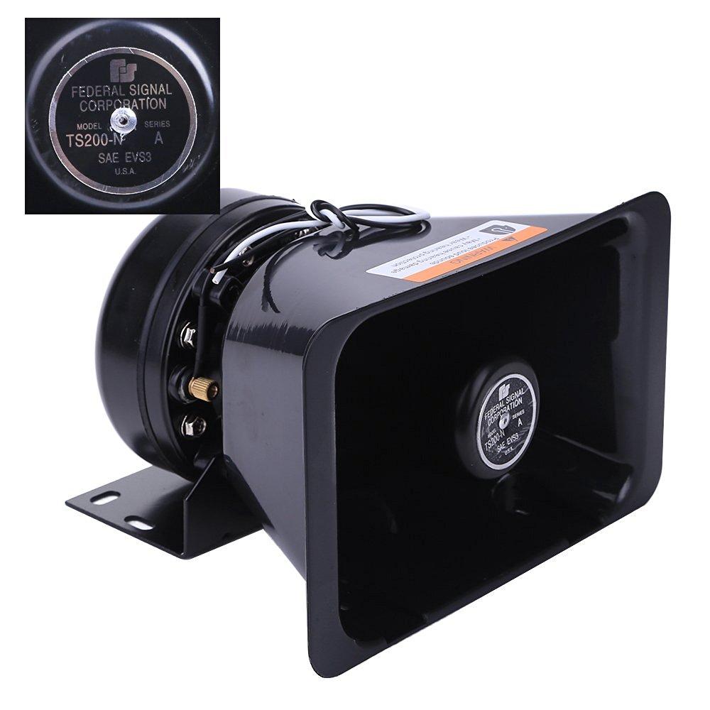 Cheap Pa Public Address Find Deals On Line At Bogen 70v Speaker Wiring Diagram Get Quotations Loud 200w Alarm Electronic Siren Outdoor Black