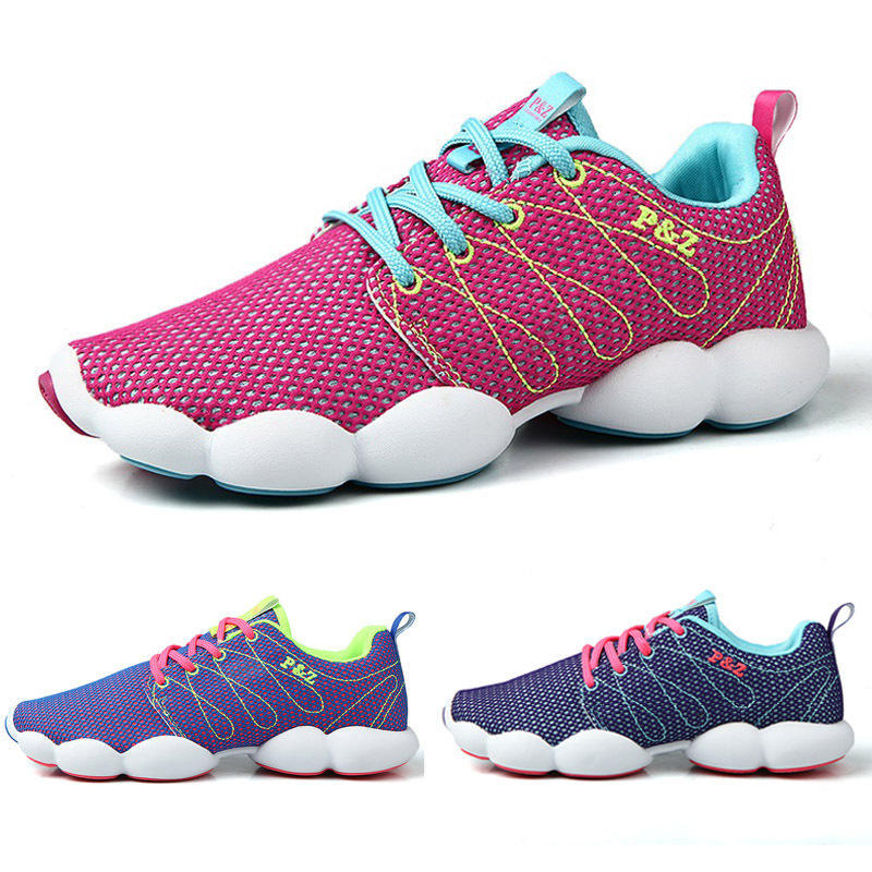 2015 Summer Women Shoes Comfortable Breathable Mesh Shoes Woman Casual Running Shoes Sports Shoes Sneakers