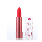 natural cosmetics Moisturizing matte velvet long-lasting private label 6 colours lip print lipstick