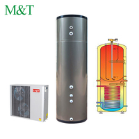 Freestanding / Wall mounted High temperature disinfection copper heat preservation stainless steel hot water tank