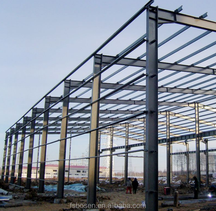 Factory price steel structure workshop and prefabricated steel structure building or steel fabricatio