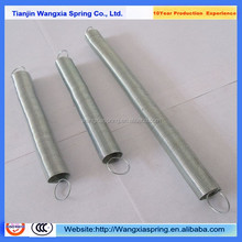 Steel long coil retractable tension springs