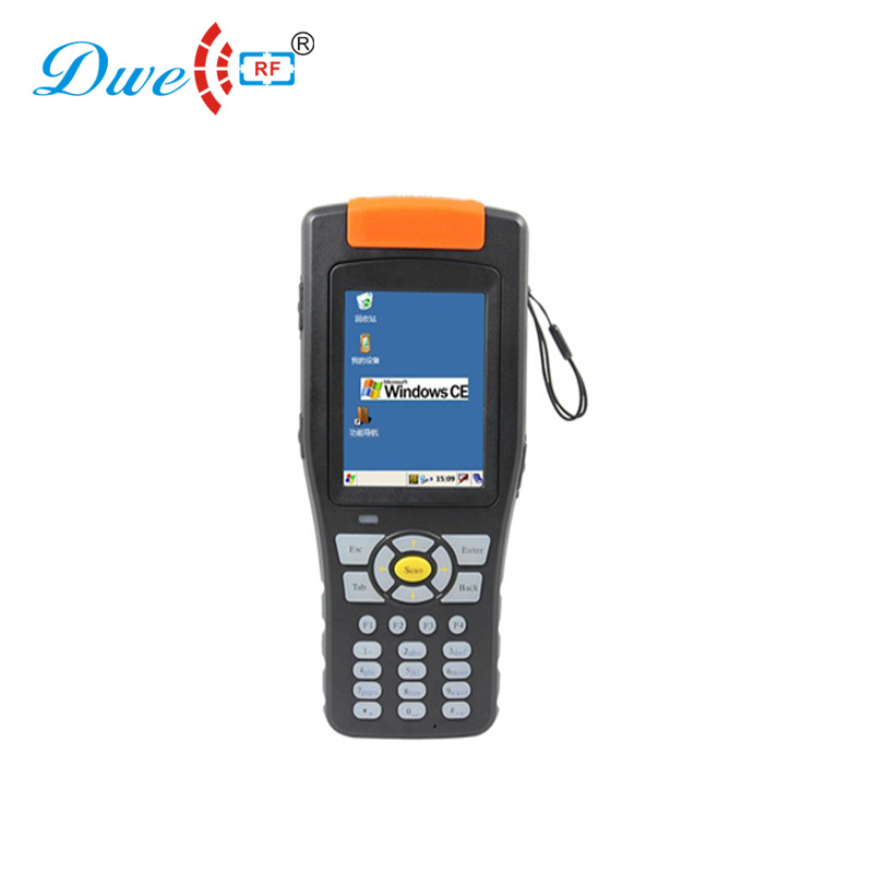 2m bluetooth 860-960mhz UHF Handheld RFID Reader support GPS/GPRS/3G/RFID/Barcode access control card reader