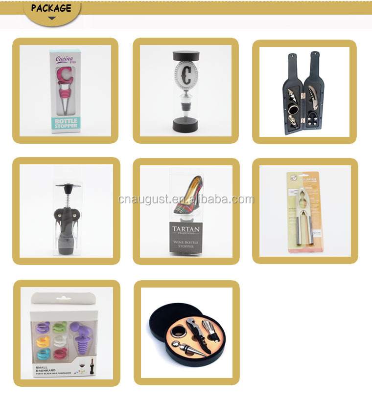 wholesale cheap craft promotional logo smart novelty plastic silicone wine vacuum pump