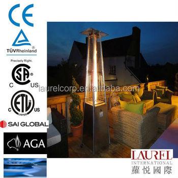 Pyramid Glass Tube Flame Gas Patio Heater PH08 Series
