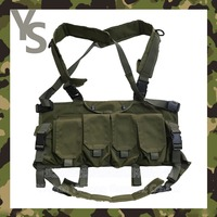 [Wuhan YinSong] Olive Green Government Issue Secutiry Modular Tactical Vest/Police Vest