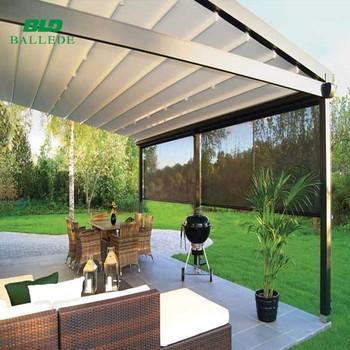Couverture Terrasse Système Pare-soleil Rétractable Balcon Auvent - Buy  Toit Rétractable,Toit De Balcon Rétractable,Auvent Rétractable Product on  ...