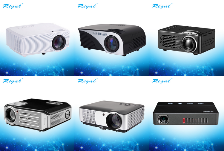Mini Projector Multimedia Home Cinema,20000 Hours Led Life Projector,wifi LCD LED Portable Pocket Projector