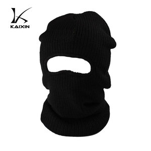 0dd2e78db Winter Knitted Black Ski Mask Hat Knitting Pattern Wholesale, Black ...