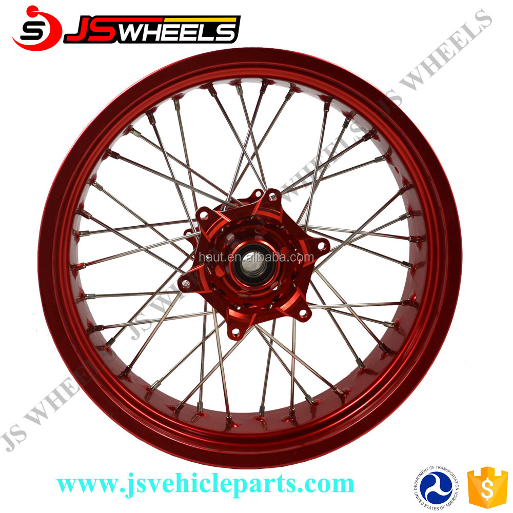 Motorcycle CR 125 CRF 250 450 R Aluminum Alloy Wheel For Dirtbike