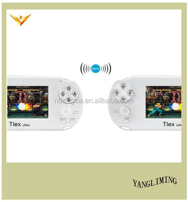 Smart OS 4.1.1 touch screen best sell handheld gaming console Tlex-ulike