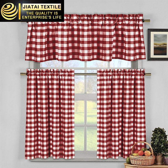 Kitchen Curtains Online Custom Grid Country D And