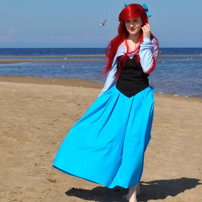 princess ariel costume women Princess Ariel Dress Costume For Adults