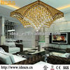 crystal fancy ceiling fan light luxury modern lighting