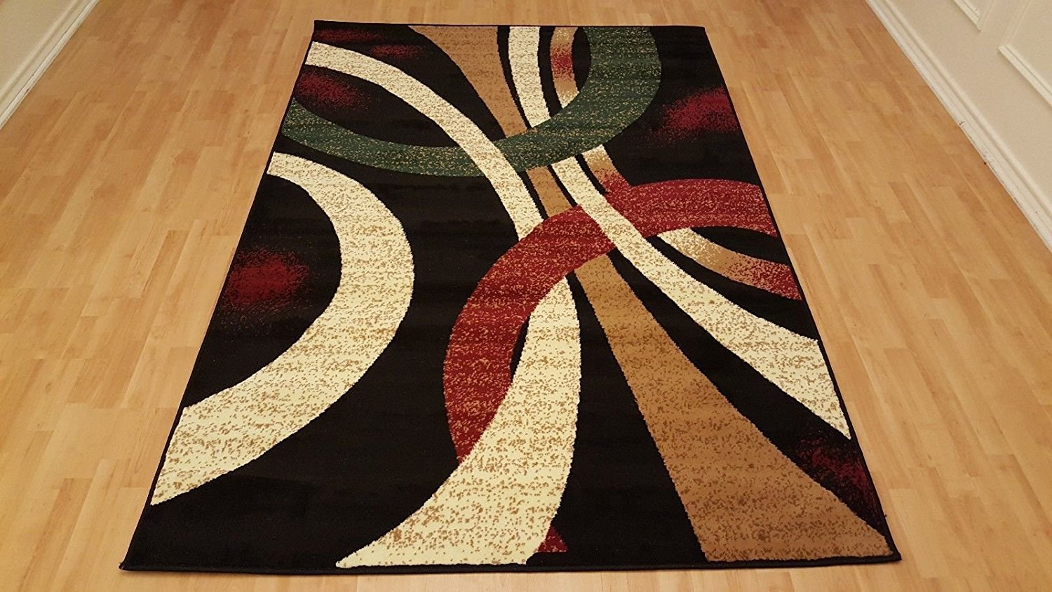 Buy Rugs Area Circle Design Contemporary Style Area Rugs 5x7 Black Color Carpets From Dynastyfloorrugs In Cheap Price On Alibaba Com