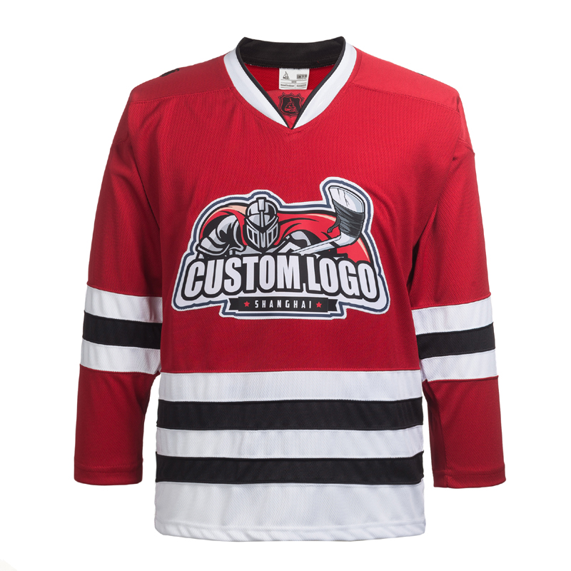 Custom Name/Number For Team Red Chicago Blackhawks Embroidery Hockey Jersey