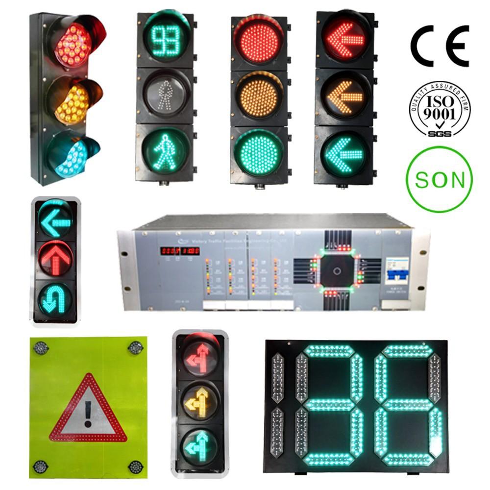 3 Digit Led Countdown Timer/ Traffic Light Countdown Meter