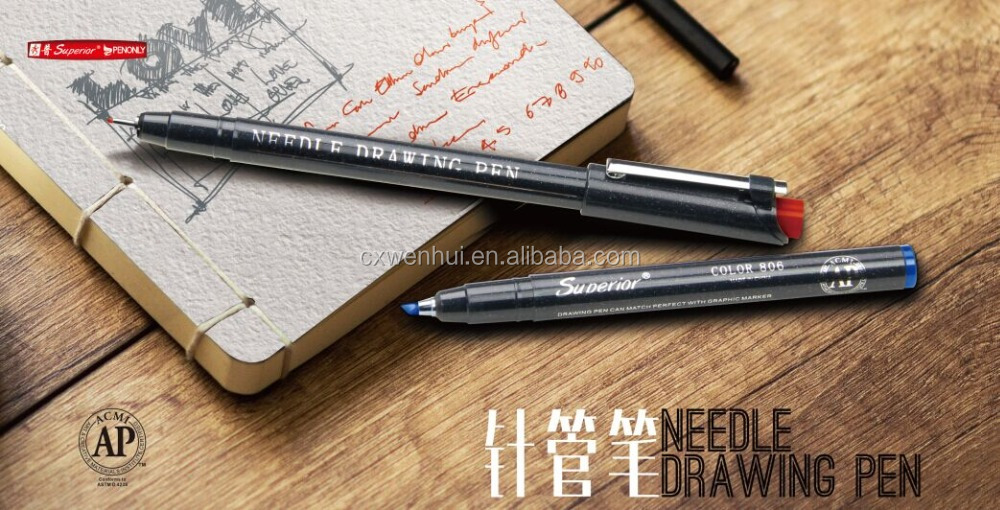 fine line drawing pen with high quality
