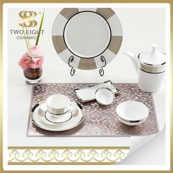Bone China golden border dinner set wholesale italian tableware for 5 star hotel  sc 1 st  Alibaba & Bone China Golden Border Dinner Set Wholesale Italian Tableware For ...