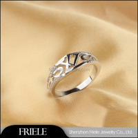 2015 Classical Sterling Silver Jewellery , Fashion Jewellery ring