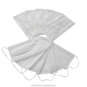 disposable nonwoven face mask for food service