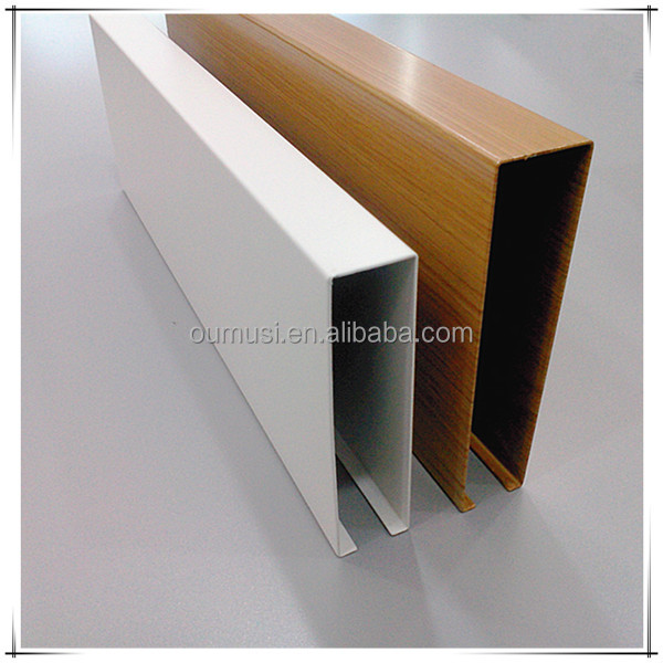Office building ceiling materials, Thin Wall Aluminum Tube Panel, 30*80mm