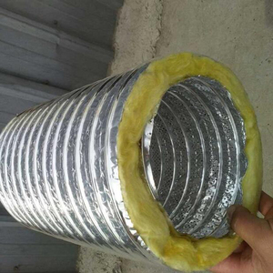 Air solution flexible insulated acoustical air duct vapor barrier 8 inch acoustic flexible ducting