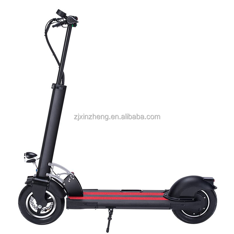 adult electric folding scooter with disc brake