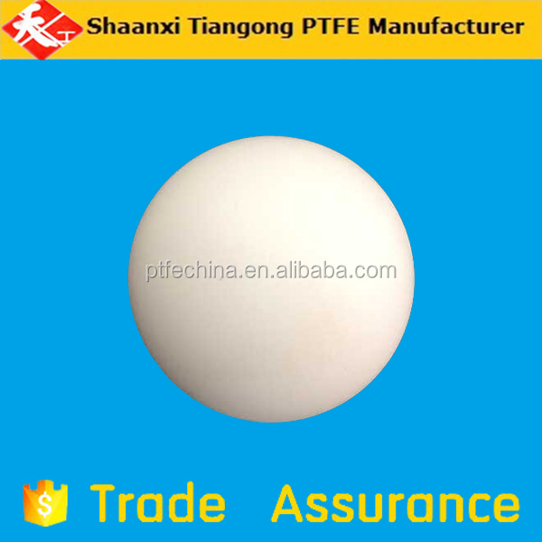 Supply high precision four fluorine ball PTFE solid ball