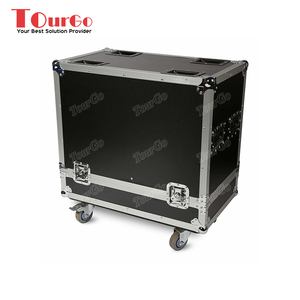 Tourgo ATA Flight Road Case Fender Twin Reverb Guitar Amp For two Electro-Voice QRX-115/75 Speakers