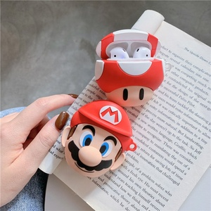 Oem Cute Cartoon Super Mario For AirPods Case Cover