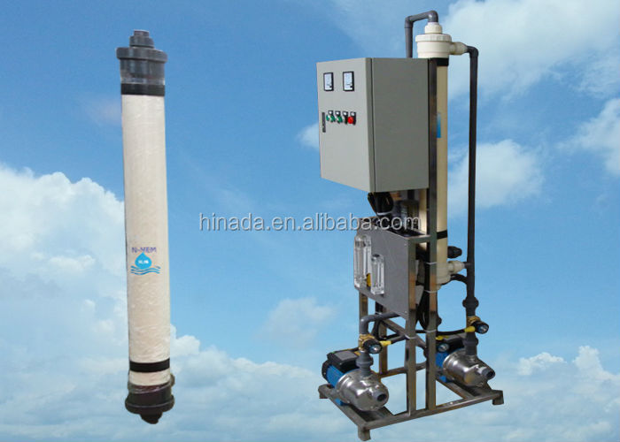 Professional Mineral Water Filter UF Membrane Ultrafiltration Water Treatment