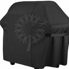 58 inch Premium Gas BBQ Grill Cover Zware Barbecue Cover Voor <span class=keywords><strong>Weber</strong></span> Brinkmann Char Braden Rip-Proof, UV & Waterbestendig