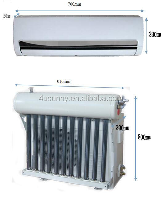 Hybrid solar ac, solar air conditioner for sale, solar airconditioning price with Japanese compressor TKF(R)-52GW(18000BTU)