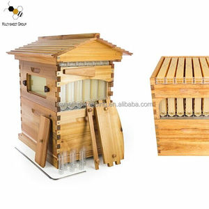 Factory price auto flow hive beehive from China automatic flow honey