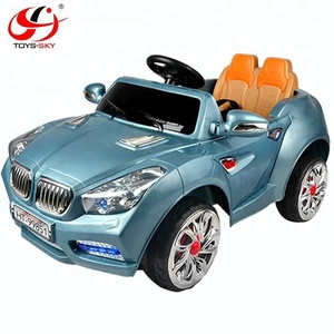 Children's electric car 2 driving motors high power 2.4G double seat remote control for parent control kids ride on car with MP3