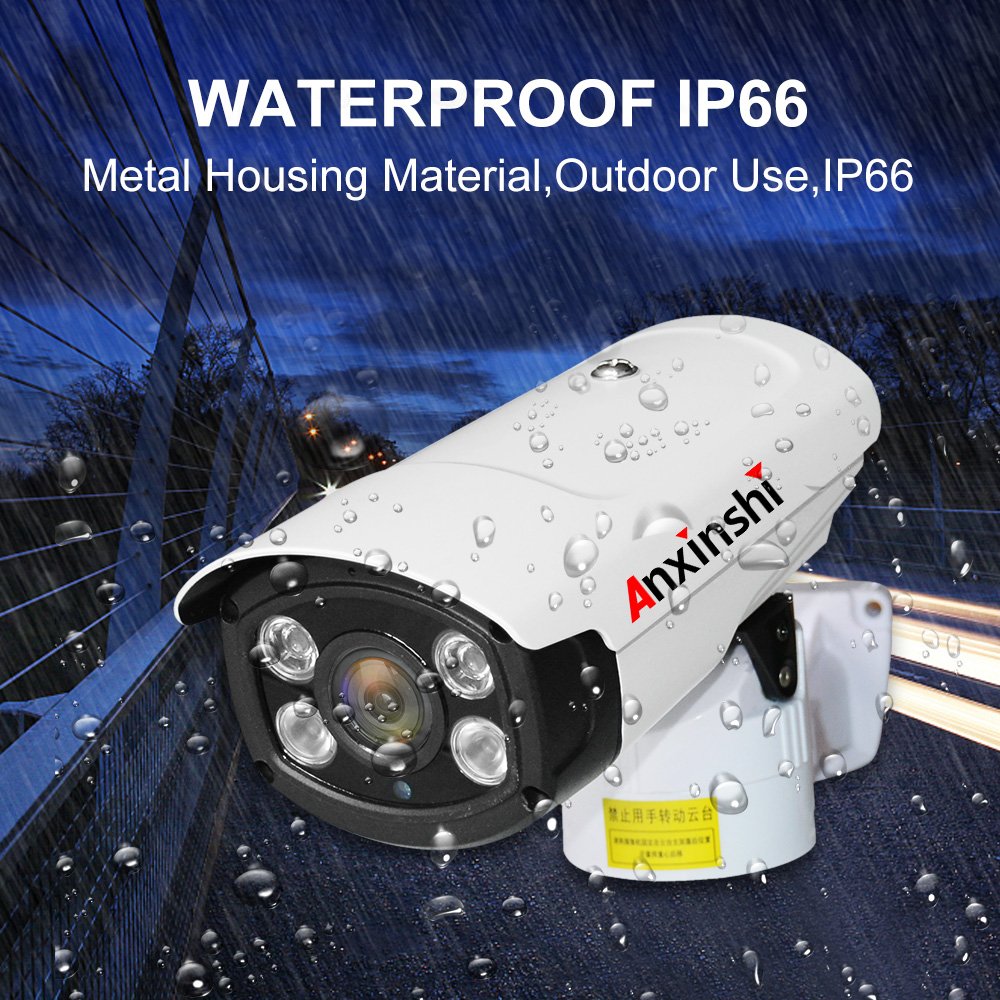 4k  3X vandaproof  Analog AHD camera starlight  8MP  IR PTZ BULLET CAMERA with RS485 UTC IR 80M