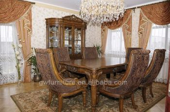 Art Deco Dining Room Furniture Wooden Table And Chair Solid Wood Product On