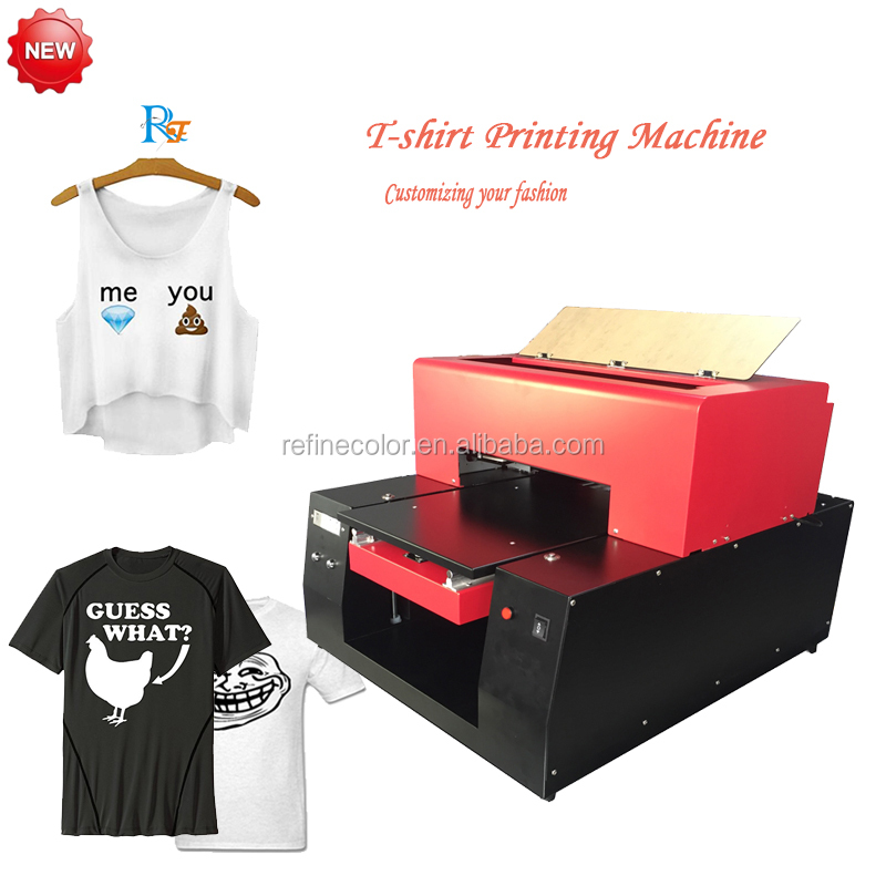 Tee Printer machine, Digital T-shirt/Short sleeves printer with clear printing image