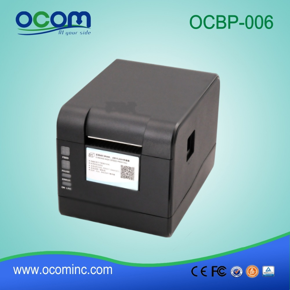 Ocbp 006 china barcode printer to print stickers sticker printing machine for sale