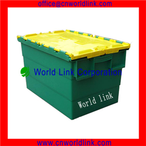 Logistics & Storage Heavy Duty Moving Plastic Tote Packaging