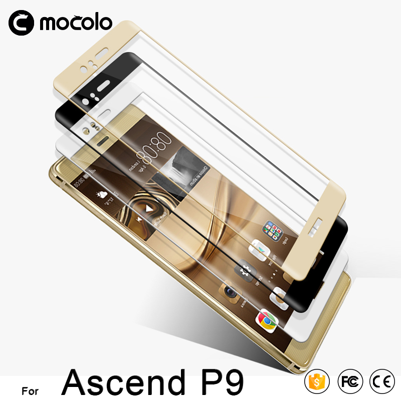 Mobile Phone for Huawei Ascend P9 3D Full Cover Tempered Glass Film screen protector