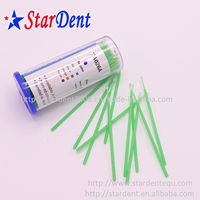 Disposable dental cotton tip applicator/plastic micro applicator