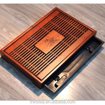 2020 High-end Chinese bamboo Tea Serving Trays/ Teaboards Factory Supplies