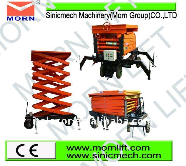 mobile scissors table lifter