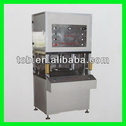 Aluminum laminated film pouch cell case/cup forming machine used for battery production line